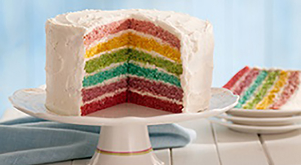 Baking With Kids Dr Oetker Rainbow Cake Schooldays Ie