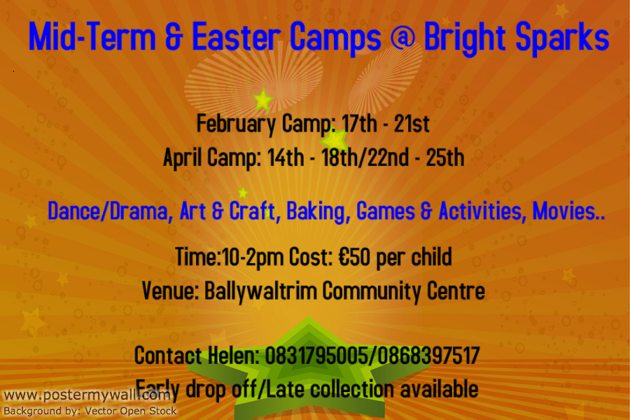 Bright Sparks Mid-Term Camp