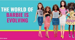 Barbie Doll gets a Body Positive Makeover