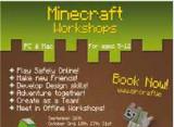 DLR Minecraft Workshops for children with Eircraft
