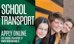 Parents urged to apply for School Transport Tickets now