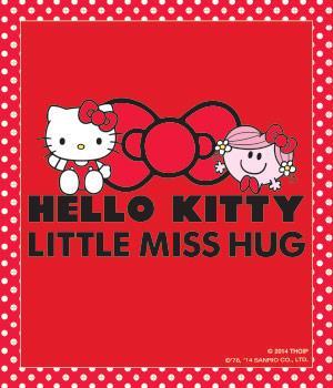 Little Miss Hug & Hello Kitty!