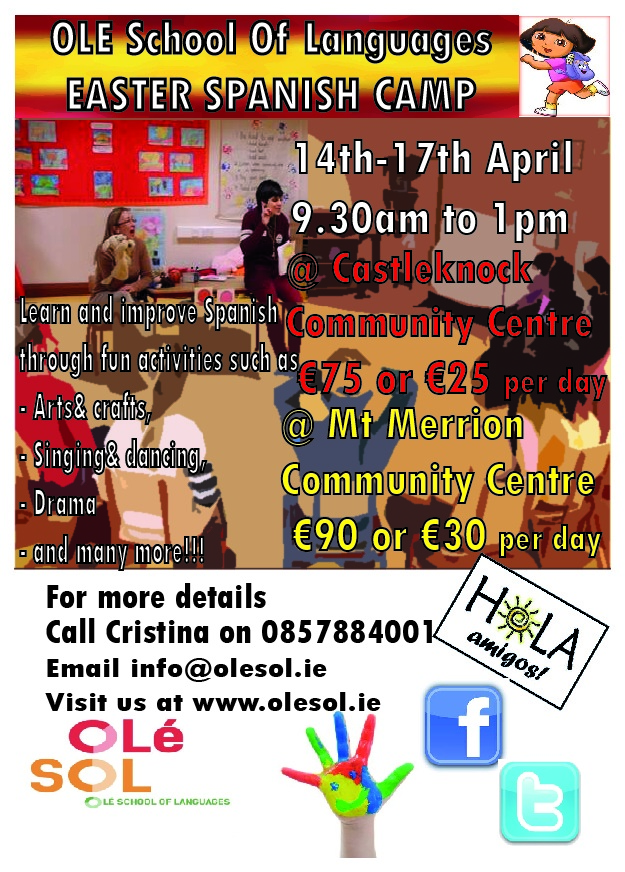 OLE SOL SPANISH EASTER CAMP
