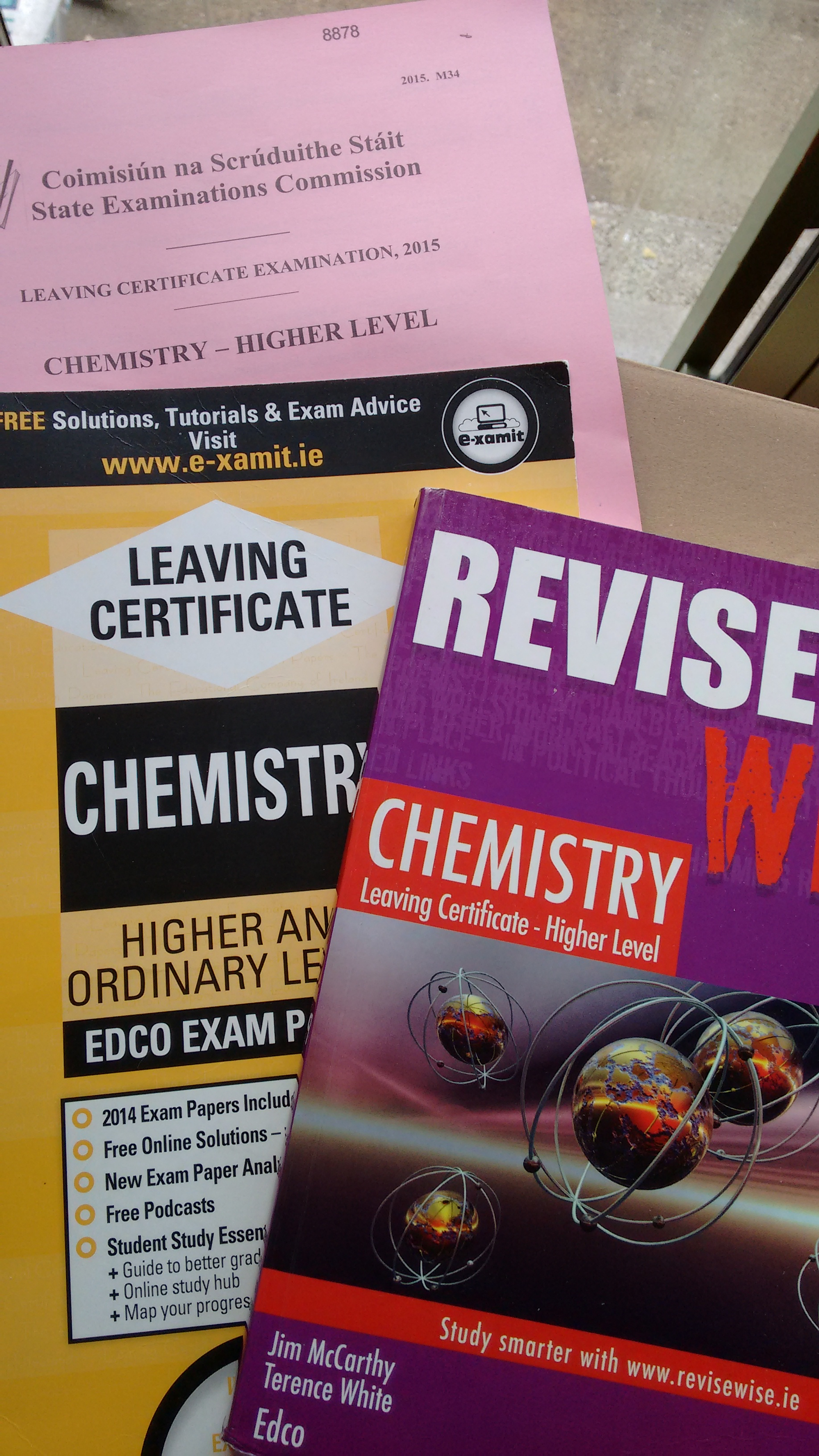 leaving cert chemistry Schoolbooksie stock the full range of leaving cert chemistry school books at the best prices with fast and reliable delivery order in confidence today.