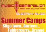 Music Generation Sligo Summer Camps