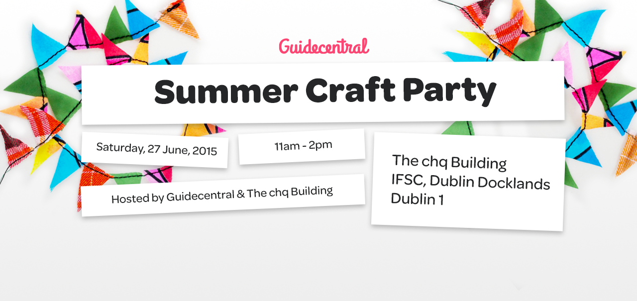 Guidecentral Summer Craft Party