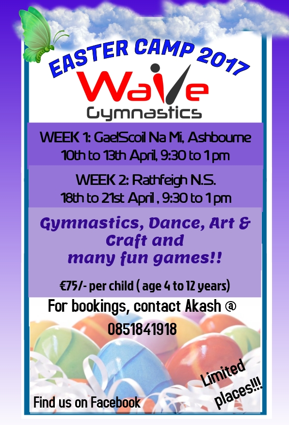 Gymnastics Easter Camp