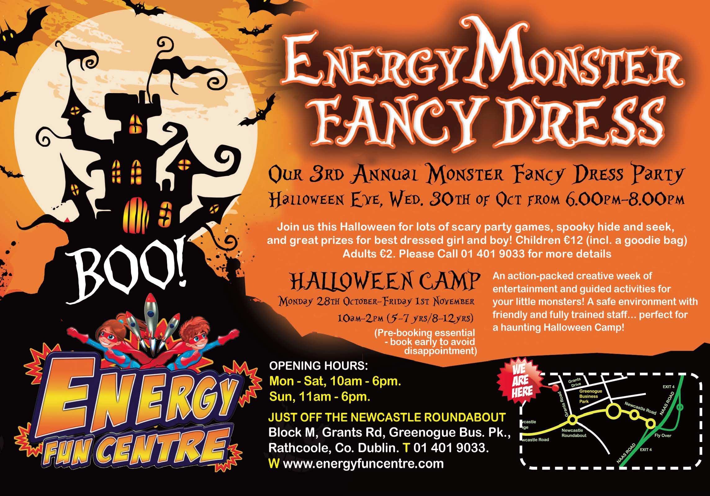Energy Halloween Party
