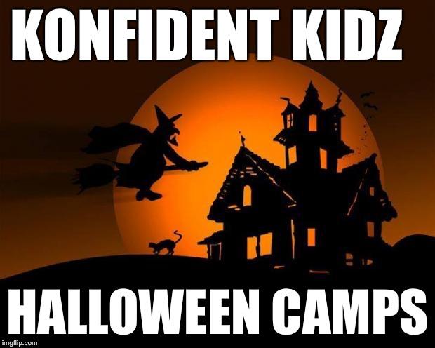 Konfident Kidz Halloween Camp