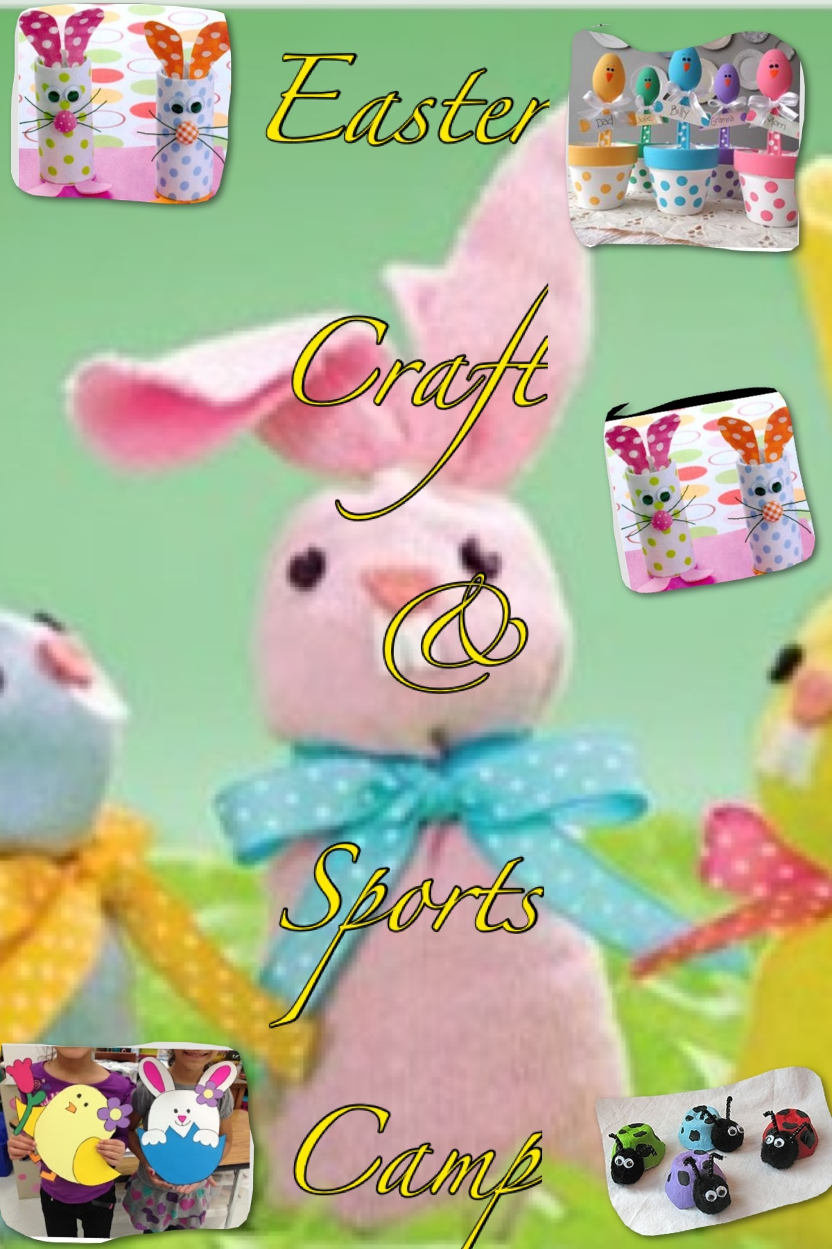 Trim Easter Arts/Crafts & Sports Camp