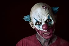 'Creepy Clowns' scare students in Blackrock School