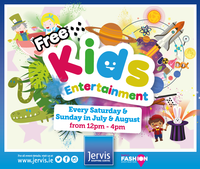 Jervis Shopping Centre Free Kids