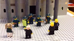 The 1916 Lego Rising created by Sunday Well Boys NS