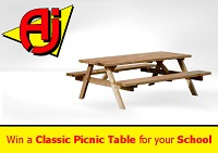 AJ Products Picnic Table Competition