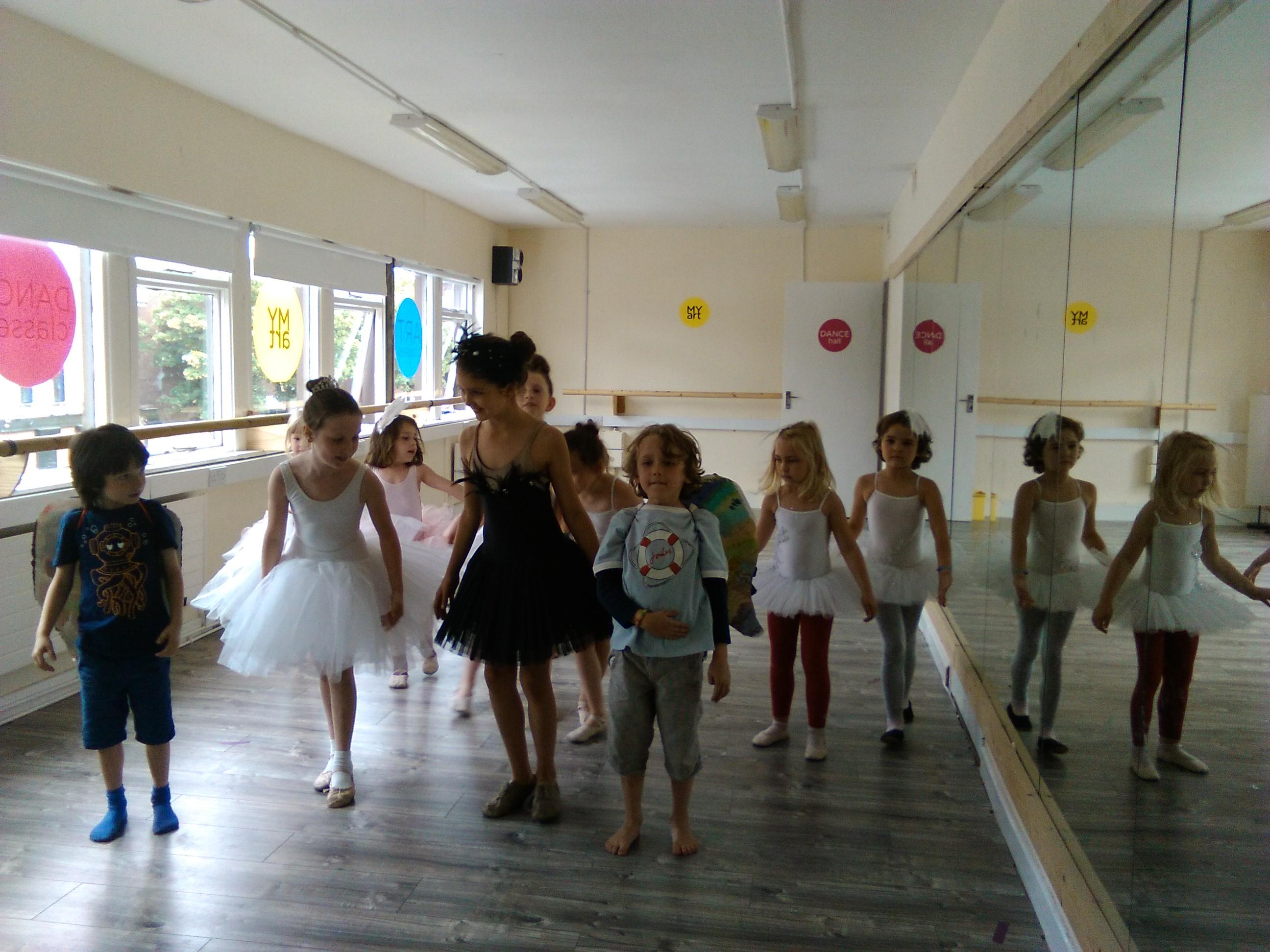 MyArt Dance and Art Camp