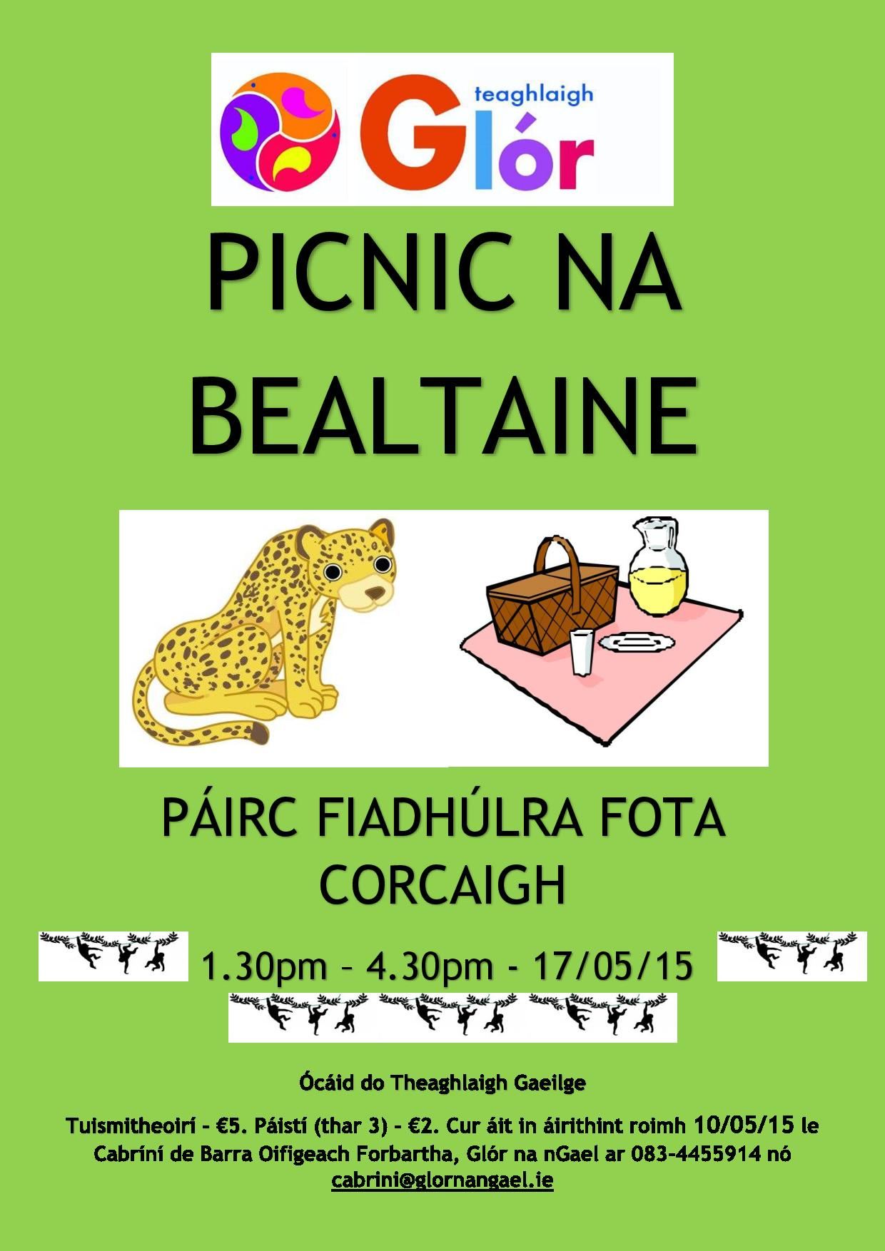 Picnic Bealtaine do Theaghlaig