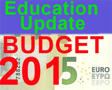 BUDGET 2015 - How the budget impacts the education sector.