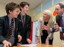 Good luck to schools competing in the finals of 'Enterprise of the Year'