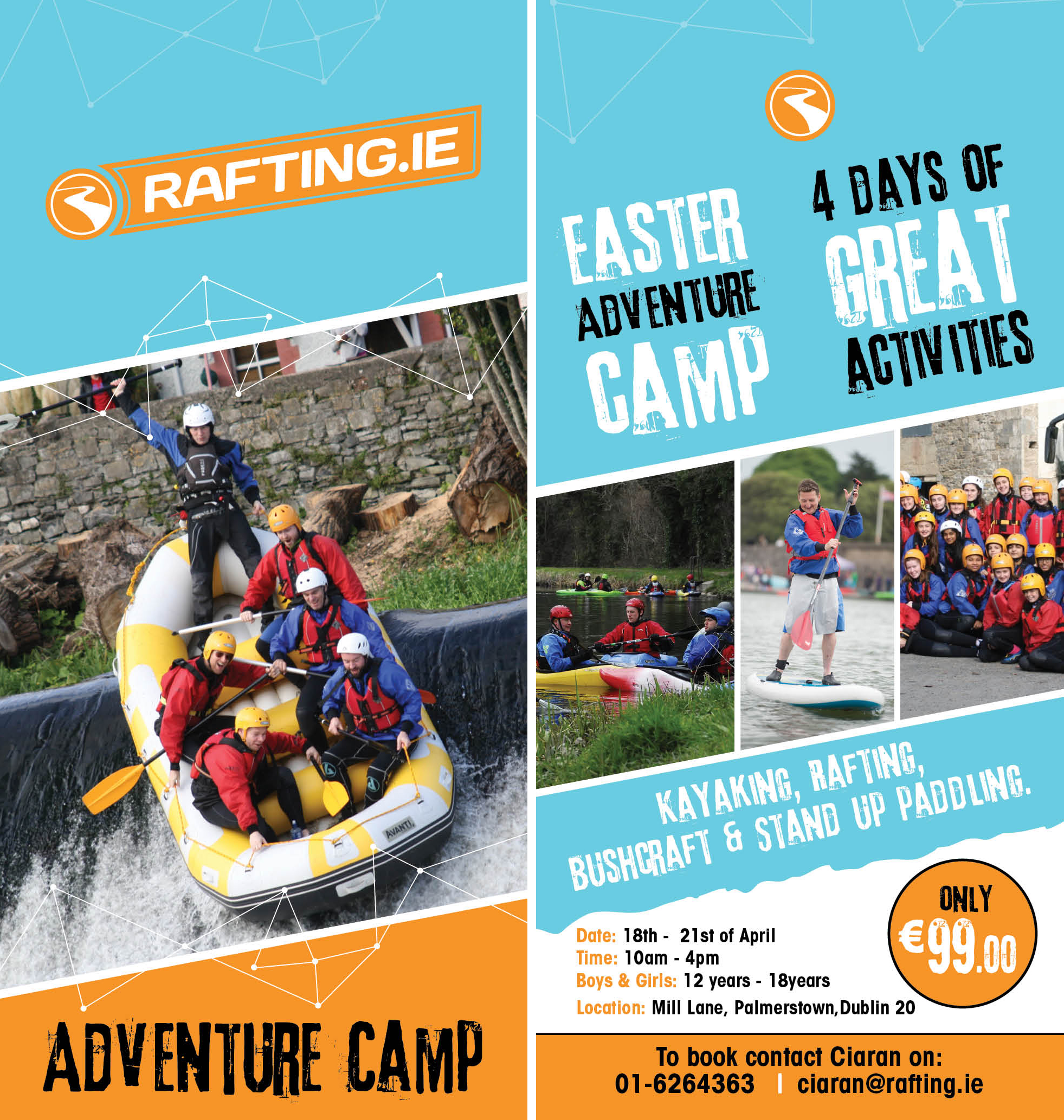 rafting.ie Easter Camp