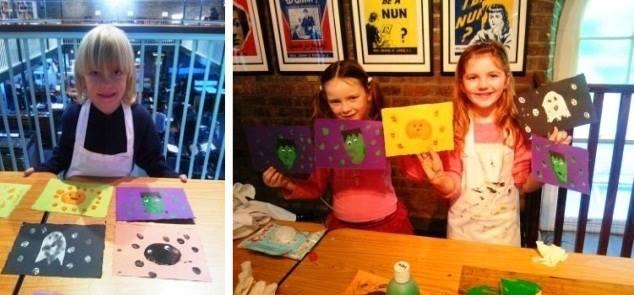 Halloween Crafts Workshops at