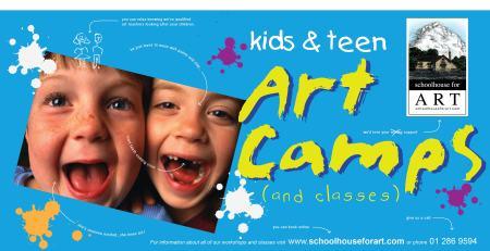 Schoolhouse for Art Easter Art Camp