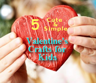 Cute And Simple Valentine Craft Ideas For Kids Schooldays Ie