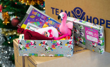 Did you donate this Shoebox to the Team Hope Appeal?