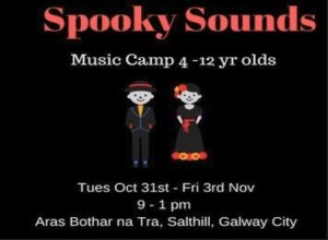Spooky Sounds Music Camp