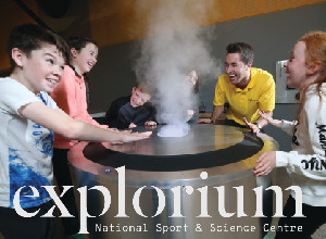 Family Fun at Explorium