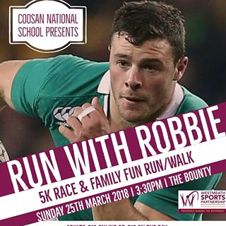 Run with Robbie Henshaw 5k fun